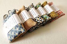 Eponge artisanale en tissu lavable réutilisable et écologique