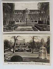 2 Postkarten POTSDAM Brandenburg Schloss Castle Sanssouci ~1930/40 ungelaufen