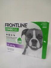 Frontline¹Combo antiparasitaire tique puce flea treatment chien 20 40 kg 3 pp