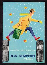 3w2107/ Alte Reklame von 1960 - SEMPERIT Reifen - Semperit Gummiwaren - München