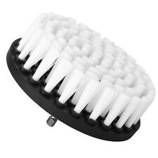 Soft Electric Drill Brush Cleaner Tool For Cleaning Carpet Leather White