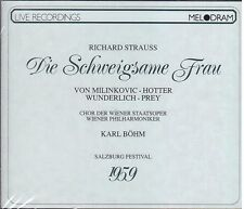 Strauss: Die schweigsame Frau / Bohm, Hotter, Gueden, Wunderlich, Sal. 1959 - CD