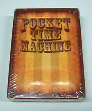 POCKET TIME MACHINE Animated Flip Book Playing Cards KICKSTARTER RARE
