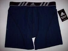 "Adidas Underwear Boxer Brief Mens Climalite 1pr L 36-38"" Performance Collegate"