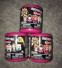 New FASHEMS Monster High Lot of 3 Sealed Mystery Capsules FASH'EMS Series 1