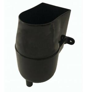 Gutter Mate Diverter & Filter in Black - Strong Plastic Diverter for Water Butts