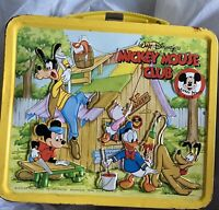 1976 Vintage Aladdin Mickey Mouse Club Lunch Box Used