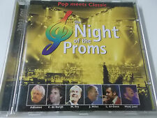 38326 - NIGHT OF THE PROMS VOL. 8 - 2001 BMG CD ALBUM (MEAT LOAF & JOHN MILES)