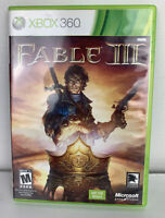 Fable 3 III (Microsoft Xbox 360, 2010)  Complete - Tested & Working