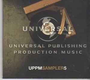 (BU156) UPPM Sampler 5, 24 tracks - sampler CD