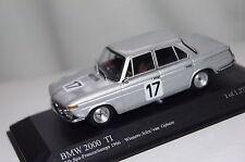 BMW 2000 ti WINNER 24h SPA 1966 Icks/Potassium 1:43 Minichamps Nuovo & Ovp 400662517