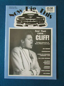 Now Dig This Magazine - Issue 299 - Feb 2008 - Rock n' Roll  Cliff Richard Cover