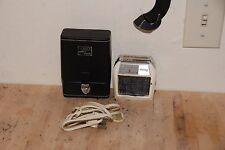 Vintage Electric Shaver Shaving Case Schick Super 3 Speed