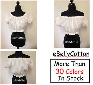 BLOUSE SHIRT RENAISSANCE COSTUME DRESS-UP CHEMISE MEDIEVAL PIRATE WENCH PEASANT