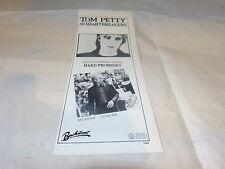 TOM PETTY & HEARTBREAKERS - Petite Publicité de magazine / Advert HARD PROMISES
