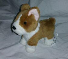 American Girl Corgi Puppy Dog Pup Brown & White Pet Posable 2014 RETIRED