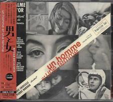 CD 9T UN HOMME ET UNE FEMME B.O.F. FRANCIS LAI / LELOUCH PRESSAGE JAPONNAIS NEUF
