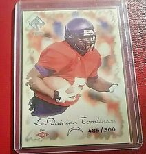 2001 Pacific Private Stock Premiere LaDainian Tomlinson Rookie RC  #ed 325/500