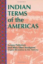 Indian Terms of the Americas (North & South America)-ExLibrary
