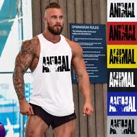 New Men Gym Casual Cotton Tank Top Bodybuilding Vest Muscle Workout Undershirt
