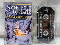 SWEET HOUR OF PRAYER 35 Best Loved Hymns (Cassette)