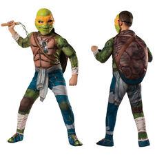 Boys Deluxe Ninja Turtles Michelangelo Costume Size Large 12-14