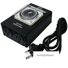 Analogue 24 HOUR Growlush Industrial Heavy Duty Timer  2 Output with Relay