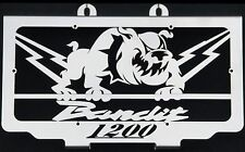 "cache / Grille de radiateur inox poli GSF1200 Bandit 1996>2000 ""Bulldog"""