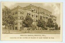 RPPC Pensacola Hospital PENSACOLA FL Florida Real Photo Postcard