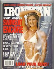 IronMan Bodybuilding mag SWIMSUIT ENCORE Wrestler WWE /WWF Torrie Wilson 7-03