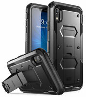 iPhone XR 6.1 Case, i-Blason Armorbox Full-Body Cover Case with Screen Protector