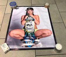 Ripper skateboard shoes thrasher cap hat girl poster complete deck banner  E5