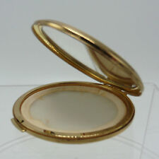 Stratton Convertible Compact Goldtone Made in England 1970s
