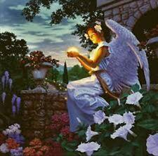 Beautiful Matted Angels Gift Art Print~Affordable Art~8x10