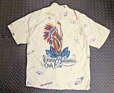 Mens Vintage Hawaiian Shirt sz M Rockabilly Retro Aloha Tommy Bahama Tiki Lounge