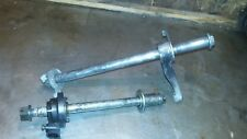 Suzuki GS500 GS 500 1992 to 2009 Front and rear axle axles