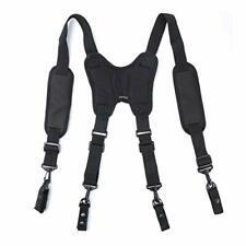 Police Duty Belt Suspenders - Padded Heavy Duty Belt Harness,Tactical