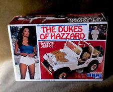 Dukes of Hazzard Daisy's Jeep Unbuilt MPC 1980 Model Kit Beautiful