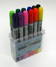 Copic Ciao 12 Marker Set - Basic Colour Set