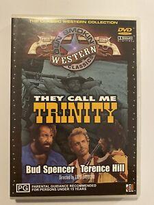 They Call Me Trinity (DVD) Western Classic PAL Region 4 Free Postage