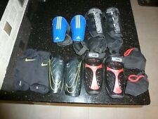 Lot Shin Guards Soccer Equipment Youth - Adult Small Medium & Large Nike