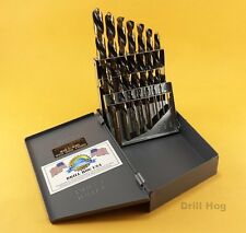 Left Handed Drill Bit Set Screw Extractor EZ-OUT Lifetime Warranty Drill Hog USA