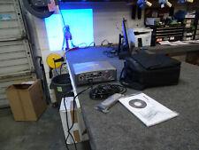 Sharp XG-C430X 3LCD Projector 4000 ANSI bundle w/ Remote Bag Softwre 1115 hr