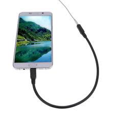 Micro USB Male to 3.5mm Female Audio Jack-Cable Earphone Headphone Adapter Cord