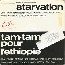 STARVATION + TAM TAM POUR L´ETHIOPIE SINGLE VINILO 1985 SPAIN