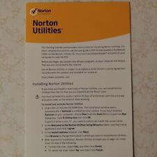 Symantec Norton Utilities 16.0 3PCs Windows XP/Vista/7/8/10 16