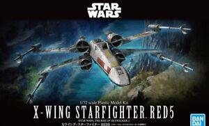 Bandai Star Wars 1/72 X Wing.RED5 Kit (T-65B) (New)