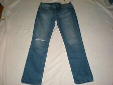 """Women  Calvin Klein  Straight Leg, Medium Wash  Jeans Size 30"""" BY Waist  NWT"""