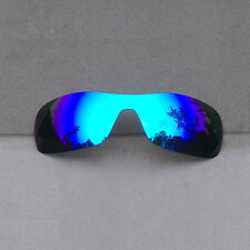 Ice Blue Mirrored Replacement Lenses for-Oakley Antix Sunglasses Polarized