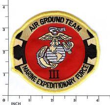 USMC 3rd Marine Expeditionary Force PATCH Marines III MEF Air Ground Team 3d MEF